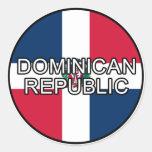 Pegatina del euro de la República Dominicana
