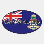 Pegatina del euro de las Islas Caimán