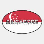 Pegatina del euro de Singapur