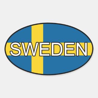 Pegatina del euro de Suecia