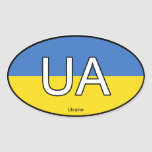 Pegatina del euro de Ucrania