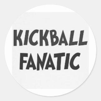 pegatina del fanático del kickball