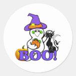 Pegatina del fantasma de Halloween