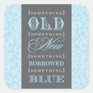 Pegatina del favor el   algo viejo, nuevo, pedido