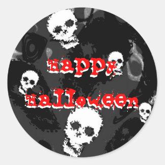 """Pegatina del """"feliz Halloween"""" de los espectros"""
