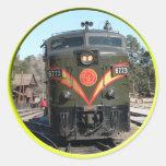 Pegatina del ferrocarril del Gran Cañón