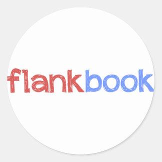 pegatina del flankbook