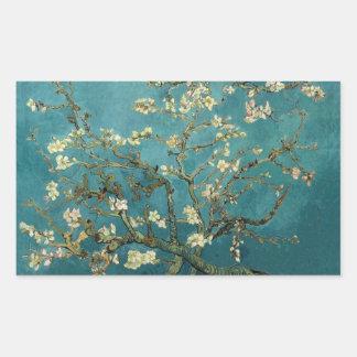 Pegatina del flor de la almendra