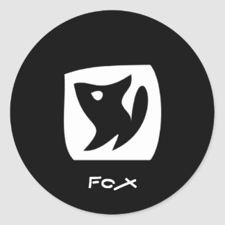 Pegatina del Fox