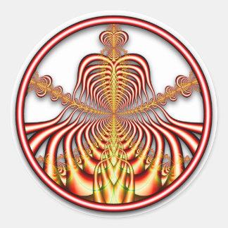 Pegatina del fractal 0708011724bC