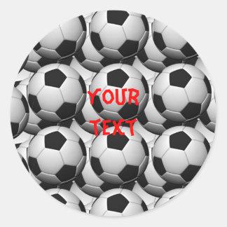 pegatina del fútbol
