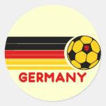 Pegatina del fútbol de Alemania