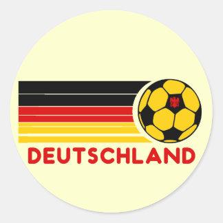 Pegatina del fútbol de Deutschland