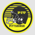 Pegatina del fútbol de Pittsburgh