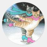 pegatina del gato 437