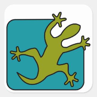 Pegatina del Gecko/del lagarto, personalizar