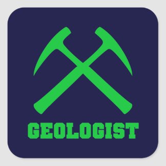 Pegatina del geólogo