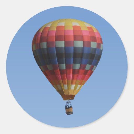 Pegatina del globo del aire caliente del edredón