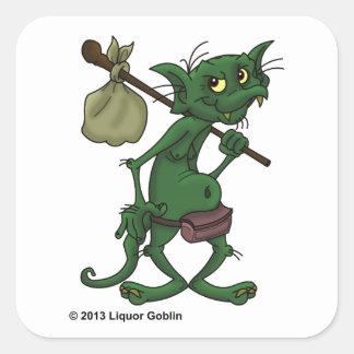 Pegatina del Goblin del licor