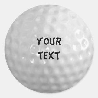 pegatina del golf