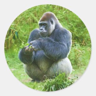Pegatina del gorila