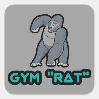 Pegatina del gorila del gimnasio