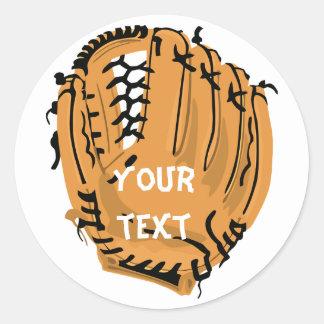 pegatina del guante de béisbol