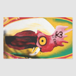 Pegatina del halcón de pollo