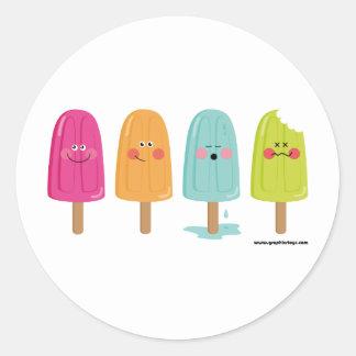 pegatina del helado