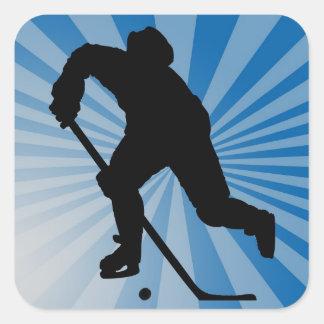 pegatina del hockey