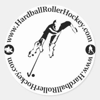 Pegatina del hockey del rodillo del béisbol