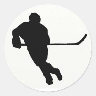 Pegatina del hockey sobre hielo