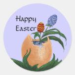 Pegatina del huevo de Pascua
