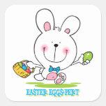 Pegatina del Huevo-pert de Pascua