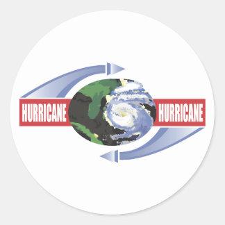 Pegatina del huracán