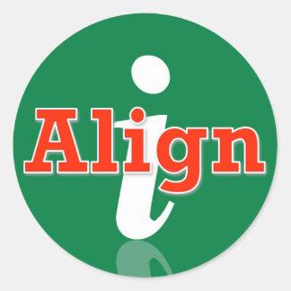 pegatina del iAlign