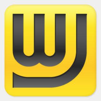Pegatina del icono el 1.5in de WJ