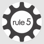 Pegatina del icono Rule5