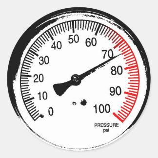 Pegatina del indicador de presión