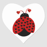 Pegatina del insecto del amor