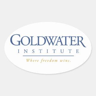 Pegatina del instituto de Goldwater