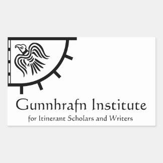 Pegatina del instituto de Gunnhrafn