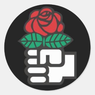 Pegatina del International socialista
