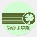 Pegatina del irlandés de Cape Cod