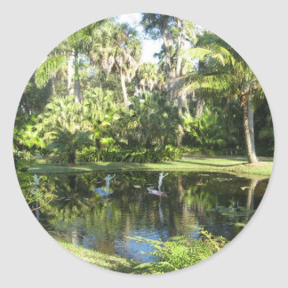 Pegatina del jardín botánico de McKee