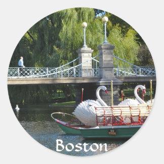 Pegatina del jardín público de Boston
