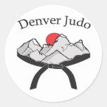 Pegatina del judo de Denver
