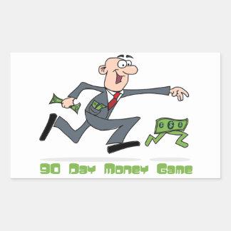 pegatina del juego del dinero de 90 días