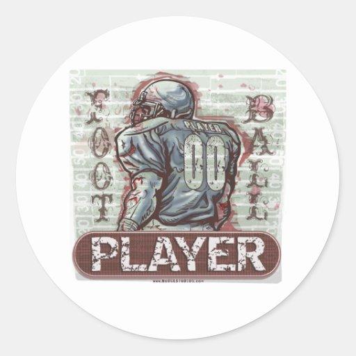 Pegatina del jugador 00