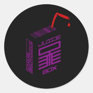 Pegatina del Jugo-Box